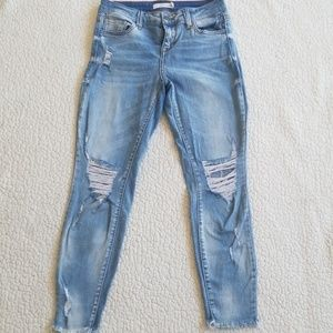 Cello Skinny Jeans Size:5 Distressed